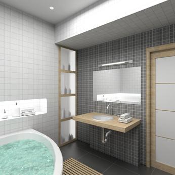 Cr ation salle de bain senlis chantilly oise 60 - Creation salle de bain ...